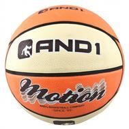 Баскетбольный универсальный мяч - AND1 MOTION ORANGE/CREAM, фото 1