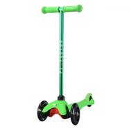 Самокат со светящимися колесами PLAYSHION FS-MS001LG (Зеленый), фото 1