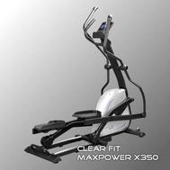 Эллиптический тренажер с программами похудения - CLEAR FIT MAXPOWER X350, фото 1
