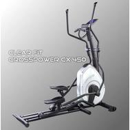 Тренажёр эллиптический с программами похудения - CLEAR FIT CROSSPOWER CX 450, электромагнитный, фото 1