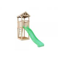 Детский деревянный городок - IGRAGRAD DIY ПАНДА ФАНИ WOOD, башня, песочница, горка, лестница, фото 1