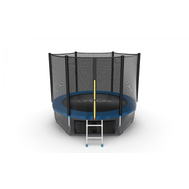 Батут EVO JUMP EXTERNAL 8 FT BLUE + LOWER NET, фото 1