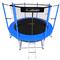Уличный каркасный батут с защитной сеткой - i-JUMP 6ft BLUE, фото 1